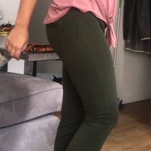 Jcrew Minni Pants (Green)